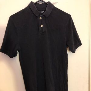 Arizona Black button down crew neck
